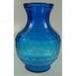 Handsome Blue Peking Glass Vase