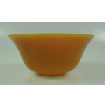 Yellow peking glass bowls
